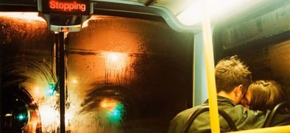 Para w autobusie